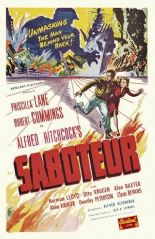 Saboteur 1942 DVD - Priscilla Lane / Robert Cummings